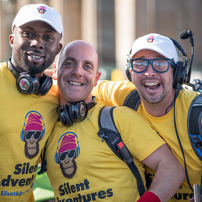 Silent Disco tour guides