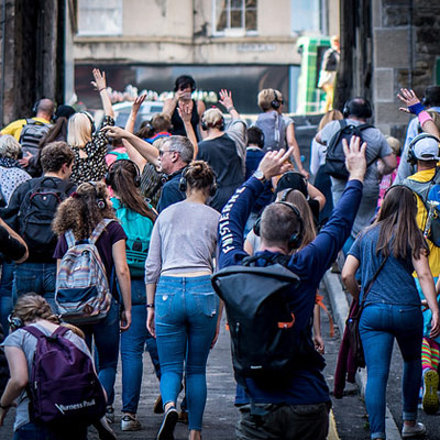 Edinburgh Silent Disco Street Tour
