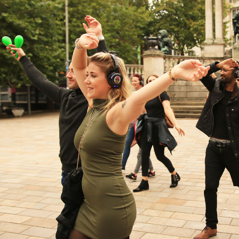 Silent Disco Tour Liverpool