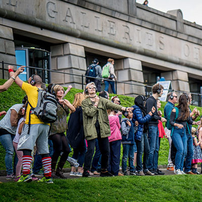 Edinburgh Silent Disco Adventure Tour
