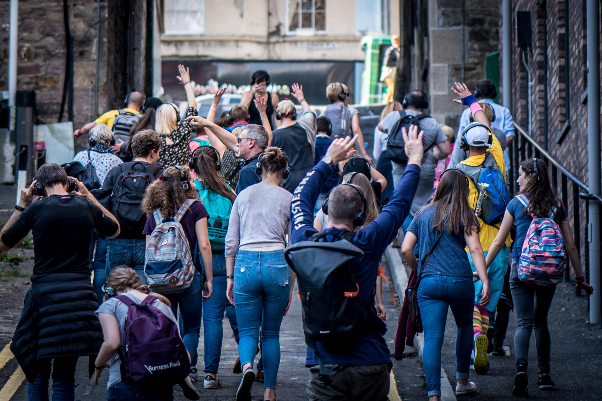 Silent Disco Tours Edinburgh