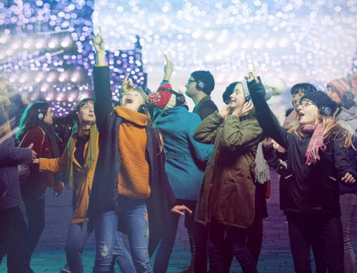 "We bring ""Silent Lights"" to Edinburgh's Official Christmas"