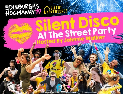 Thrilled to be hosting a BIG Silent Disco on Edinburgh's Official Hogmanay Street Party…