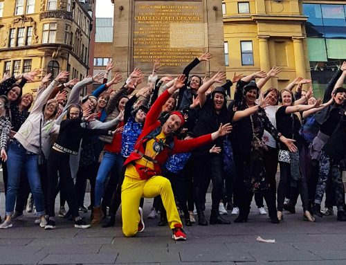Newcastle silent disco tours hit the road