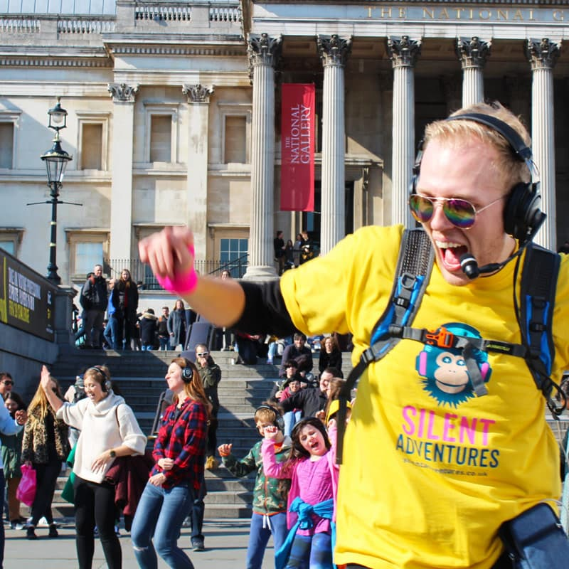 Silent Disco Edinburgh Tour Host