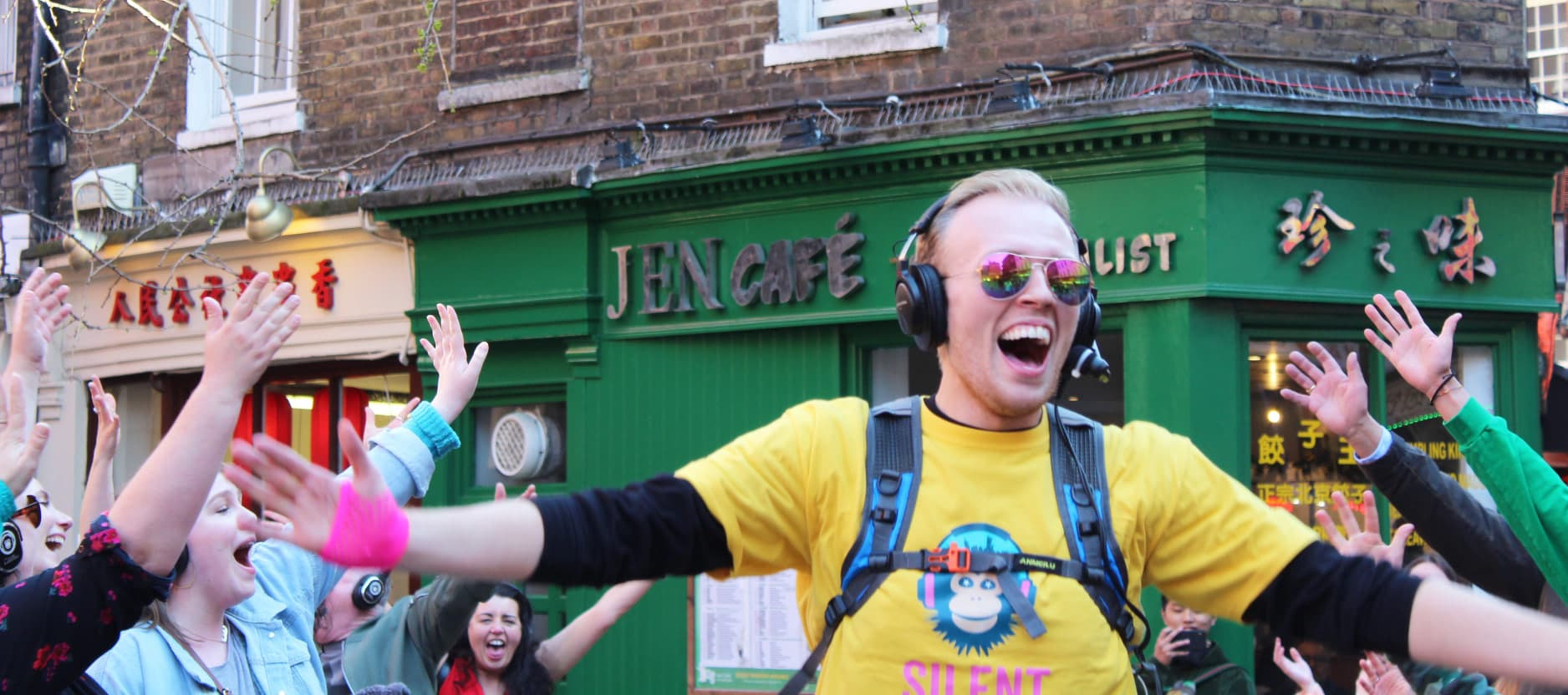 London Silent Disco Tour Host