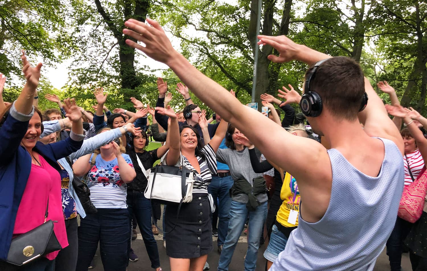 Silent Disco Adventure Tours running in London Festivals