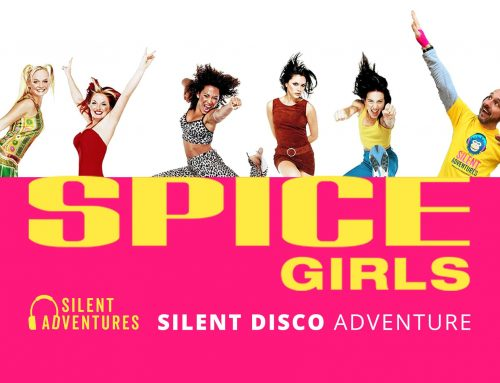 why yes, of course we're doing a Spice Girls Silent Disco Adventure!