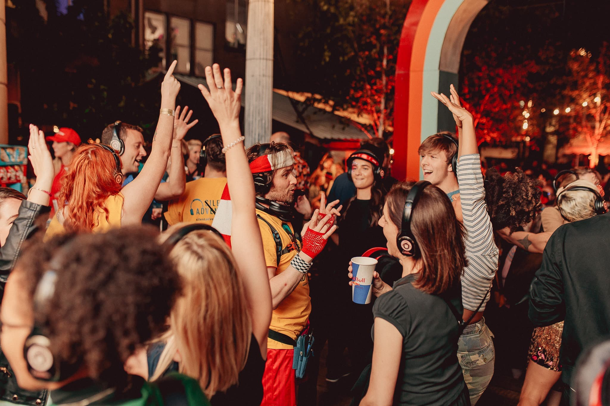 Silent Disco Tours at the List Fringe Party
