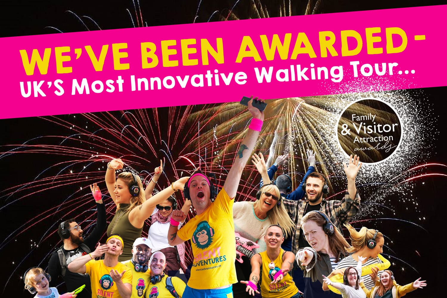 Most Innovative Walking Tour & Fitness Adventure Company