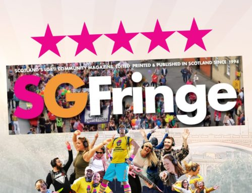 A glowing 5 star review by SGFringe Mag!
