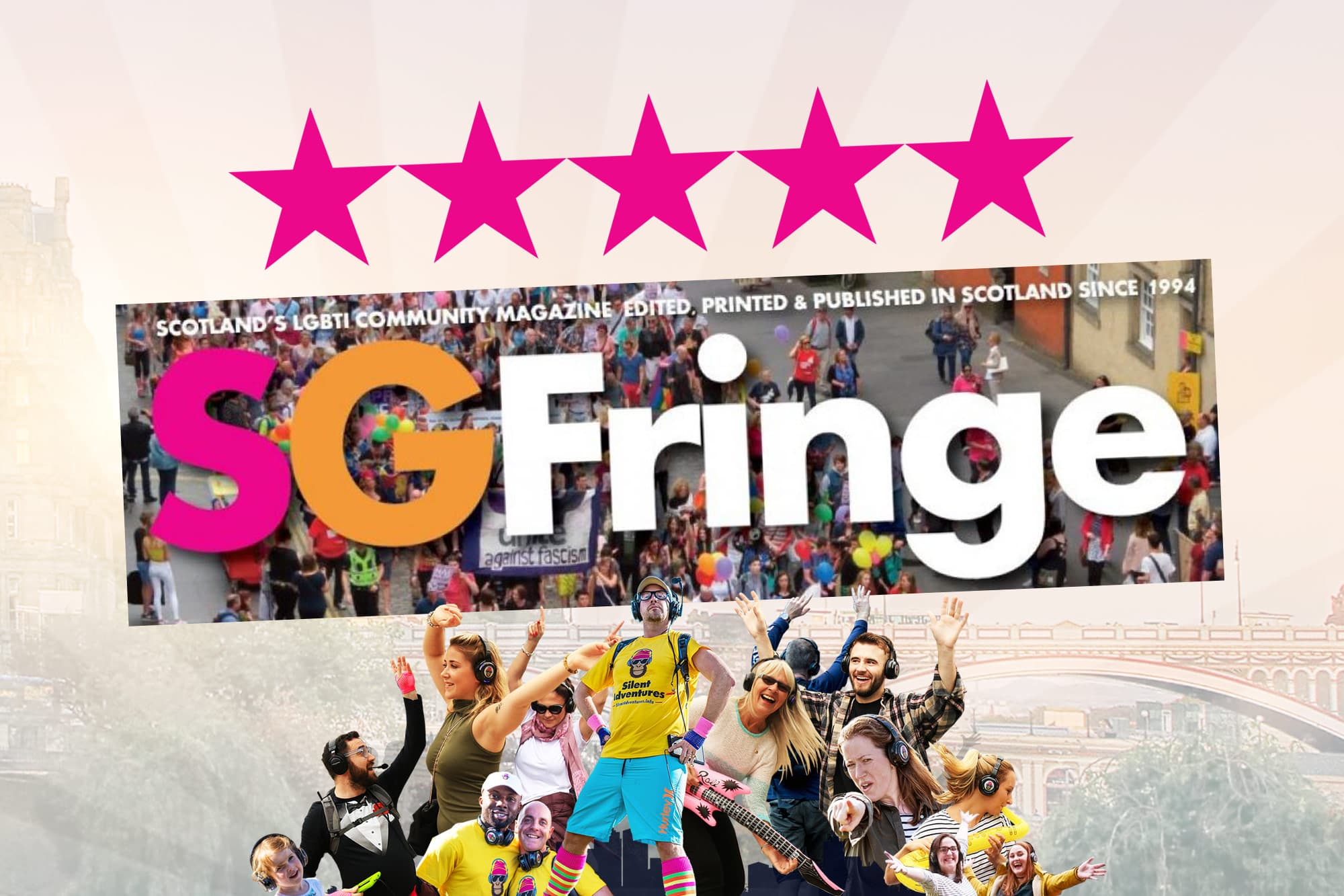 5 star Fringe silent disco tour review