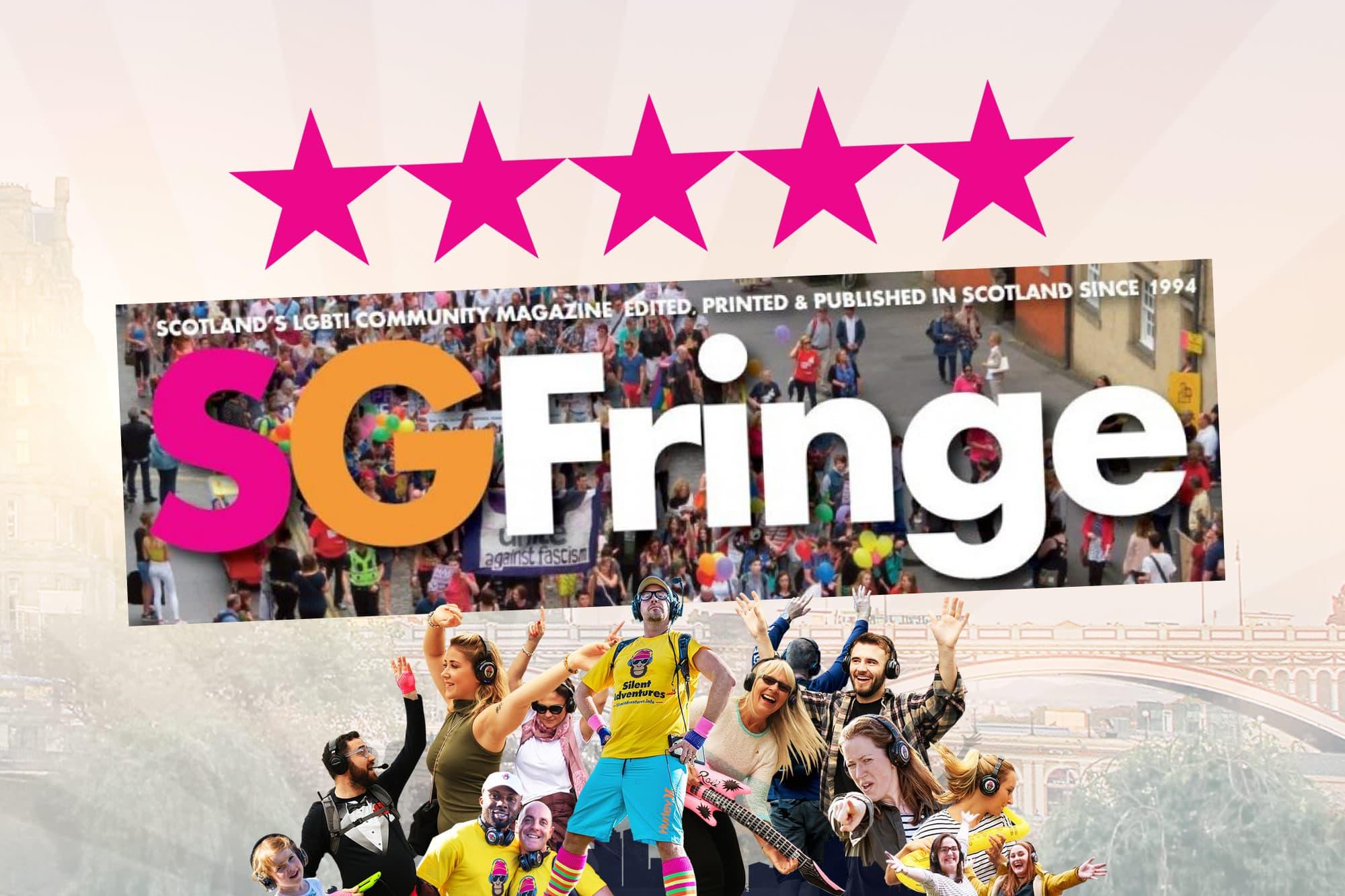 5 star Fringe silent disco tour review