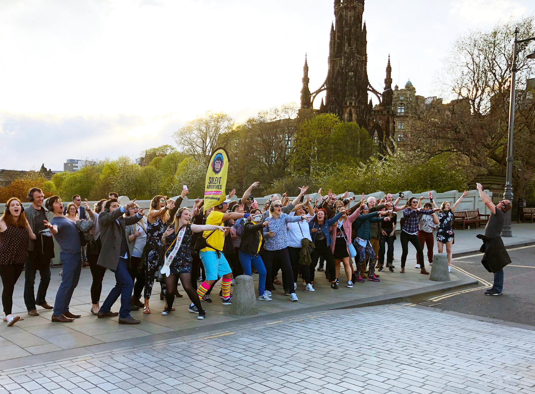 Silent Disco Tours in Edinburgh