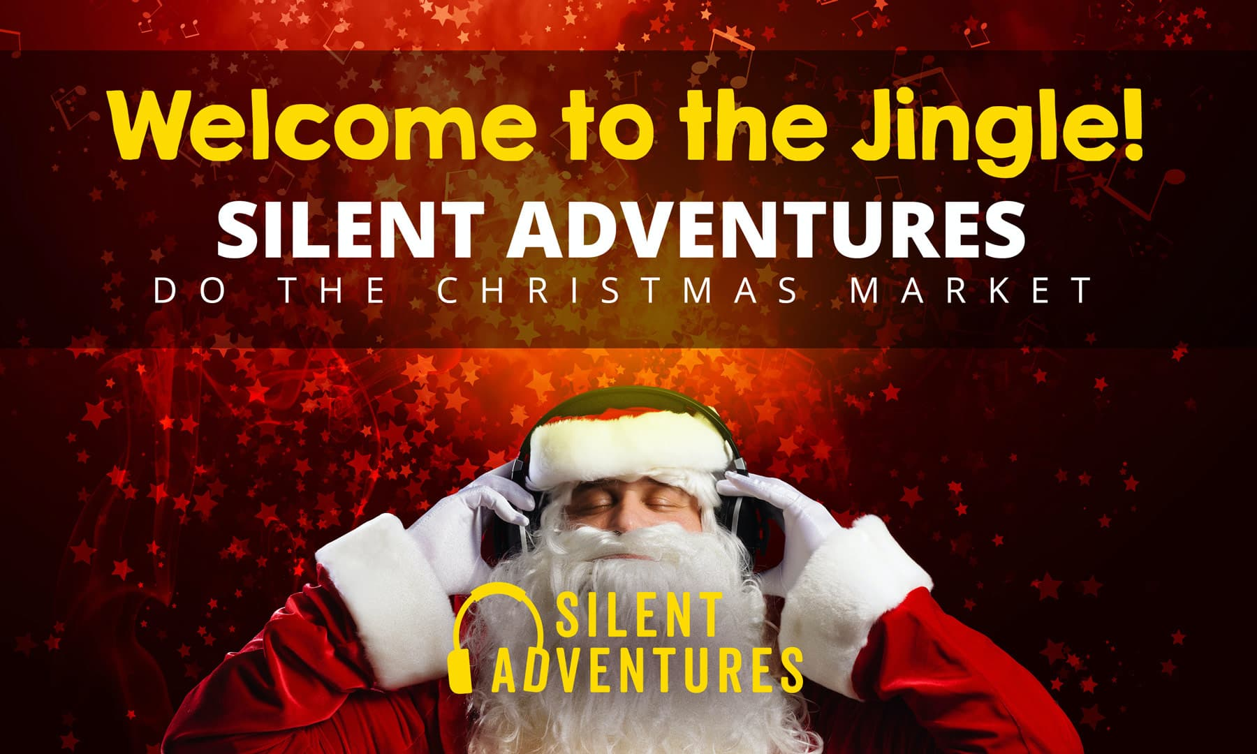 Silent Disco Adventures at the Edinburgh Christmas Market