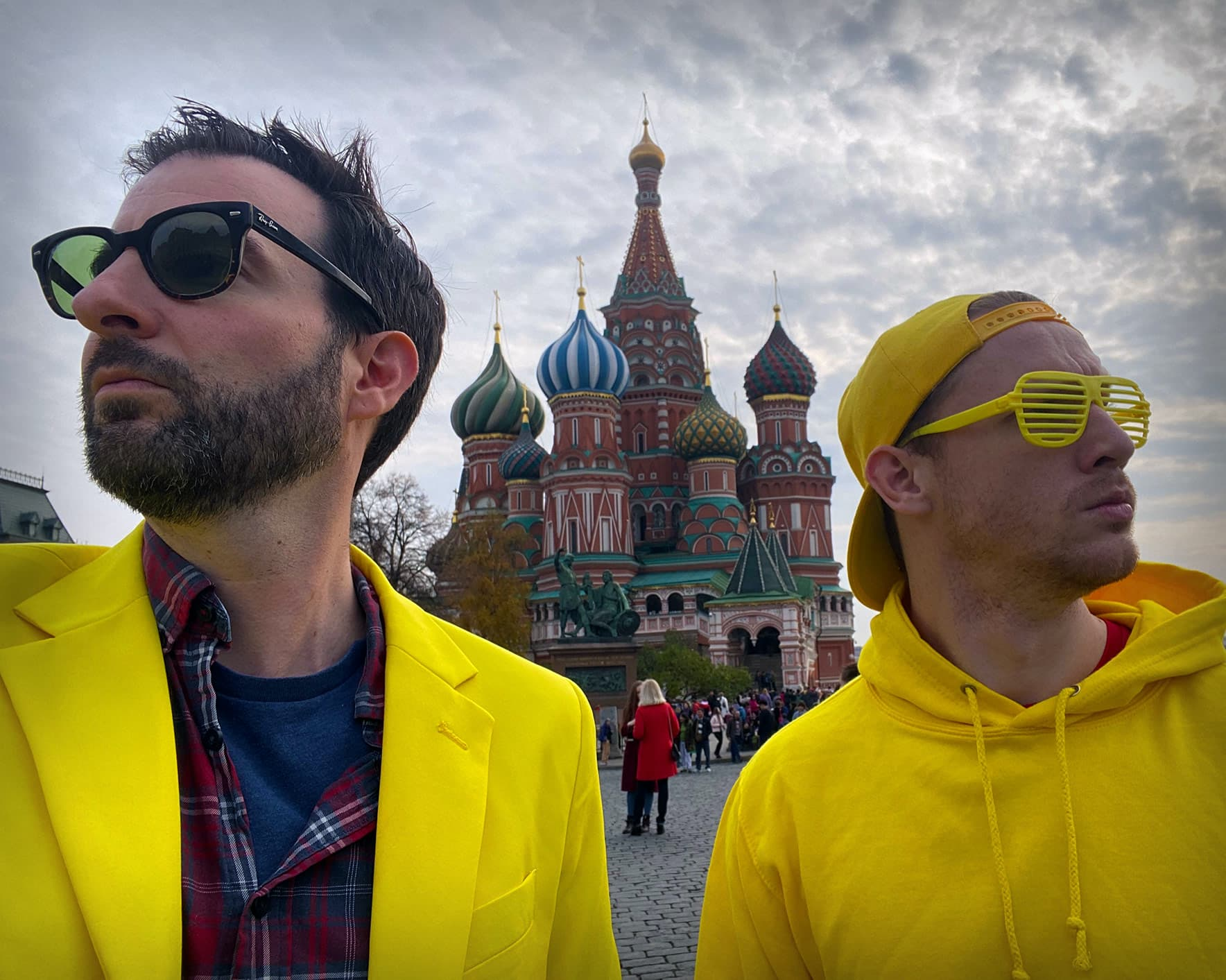 Silent Disco Tours in Russia