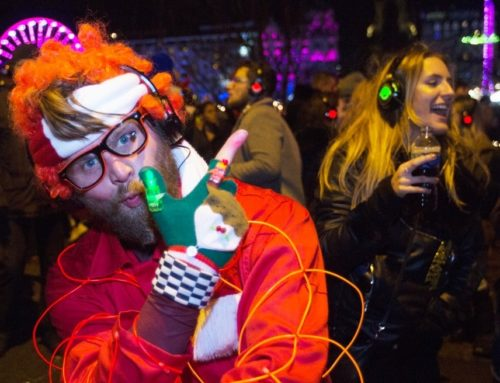 Get ready for another huge Silent Disco Adventure at Edinburgh's official Hogmanay street party…