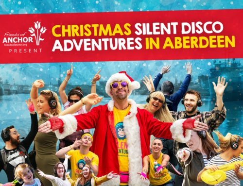 Friends of ANCHOR bring Silent Disco Adventures to Aberdeen