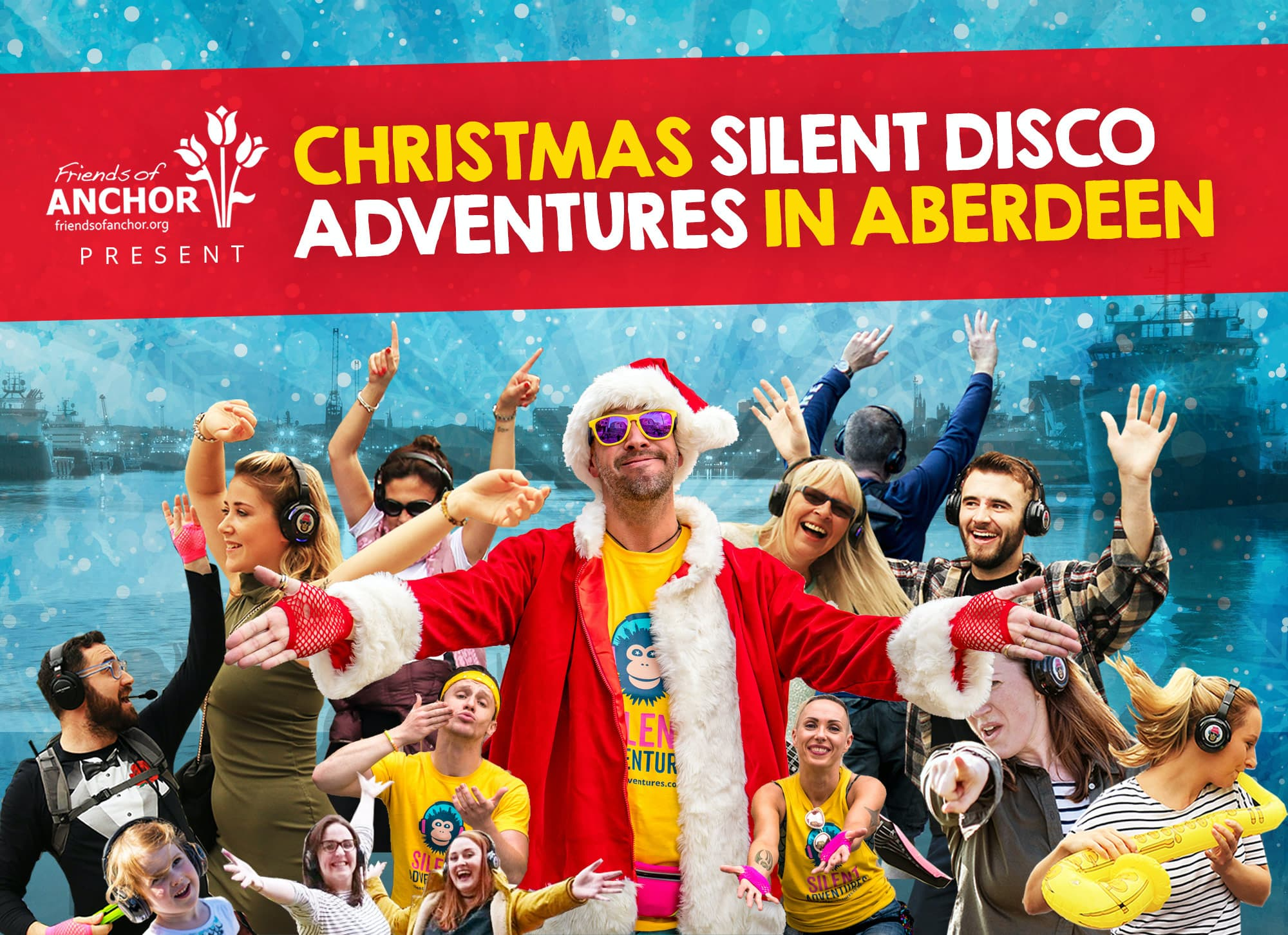 Aberdeen Christmas silent Disco Adventures