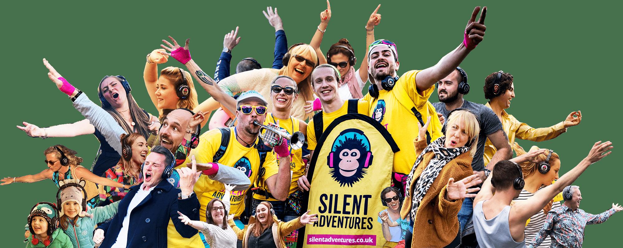 Silent Adventures Silent Disco Walking Tours