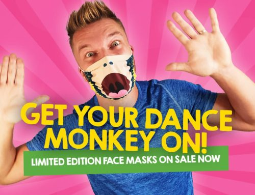 Limited Edition Dance Monkey Face Masks On-Sale