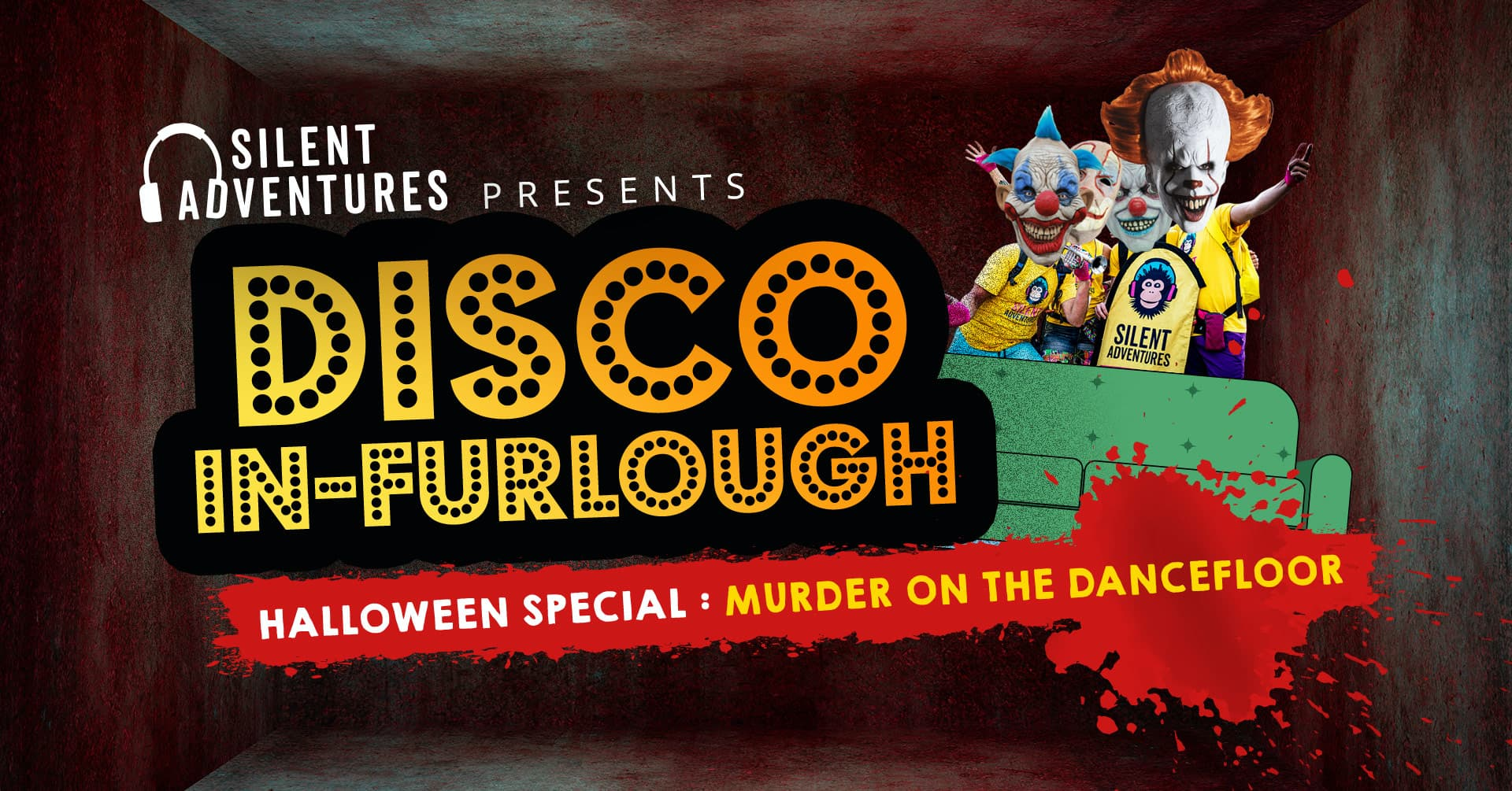Get Ready For A Halloween Zoom Disco In Furlough Special Uk Silent Adventures