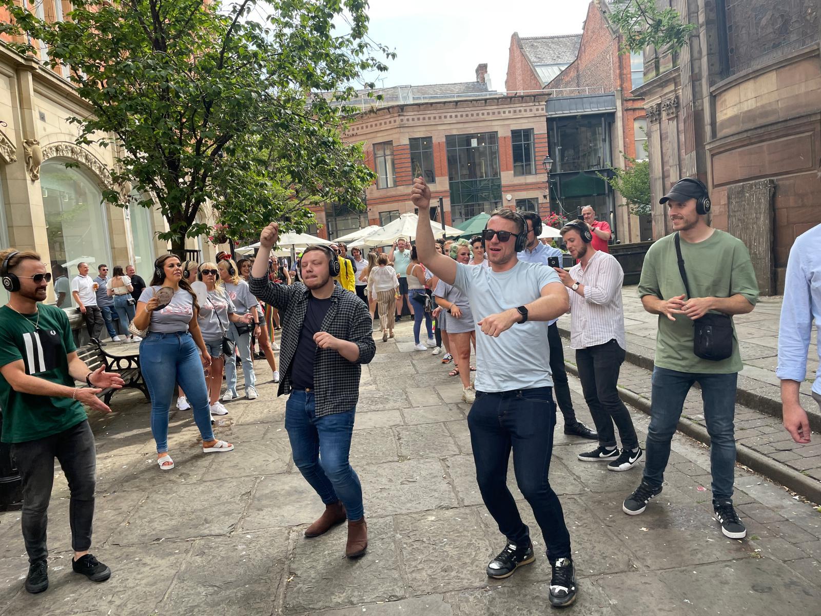 Manchester Silent Disco Walking Tours