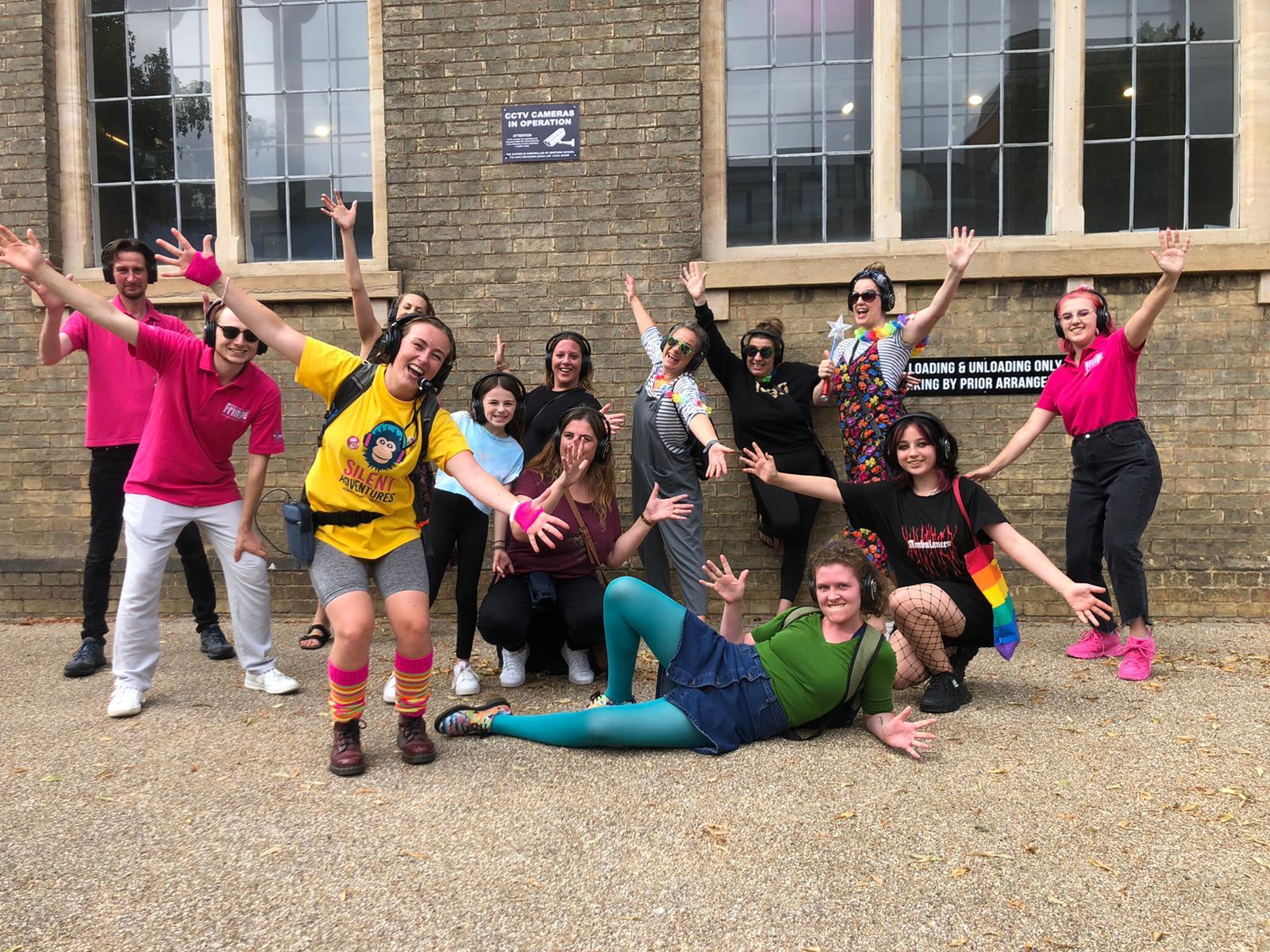 London Silent Disco Walking Tours at Bedford Fringe