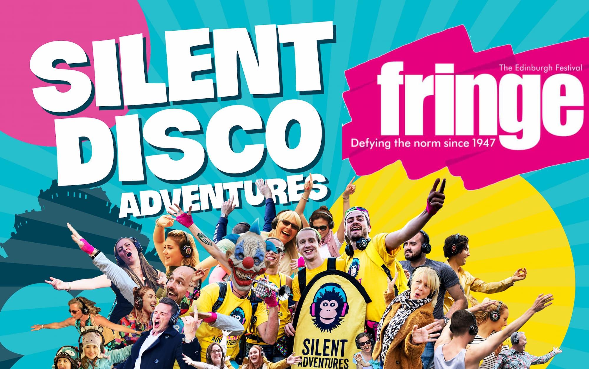 Fringe 2021 Silent Disco Walking Tours in Edinburgh