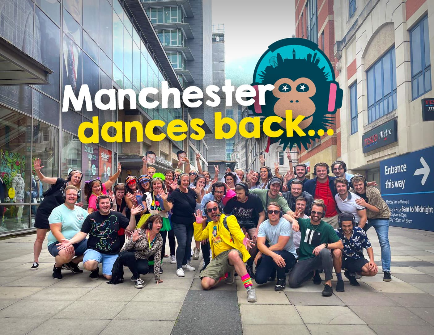Silent Disco Walking Tours relaunch in Manchester