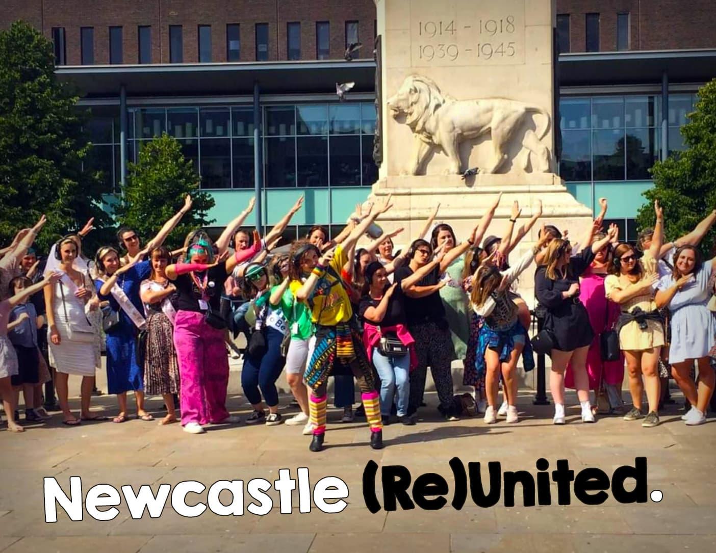 Silent disco walking tours in Newcastle